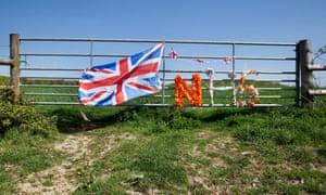 Support for the NHS on Devon farmland