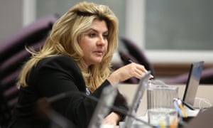 Michelle Fiore, pictured in 2013, emerged as a mediator-cum-cheerleader for the remaining occupiers.
