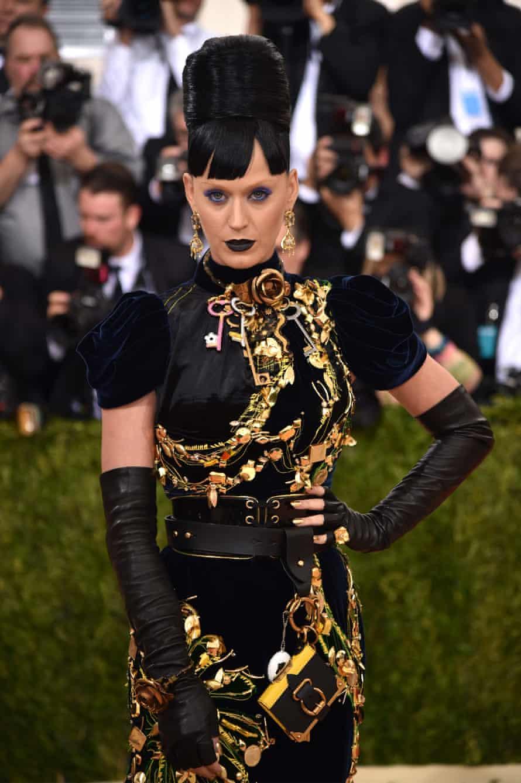 Katy Perry at The Met Gala, 2016.