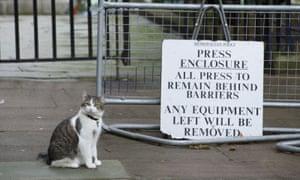 Guarding the press pen