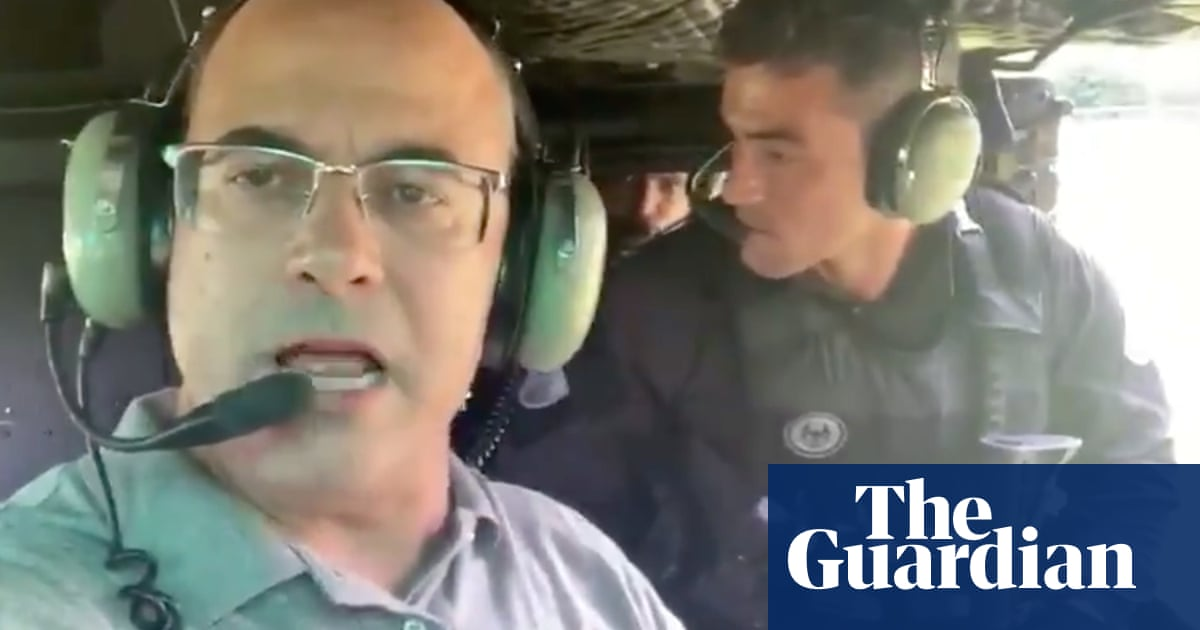 Rio governor branded a show-off after tweeting video during police