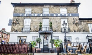 The Tulse Hill Hotel's imposing fronatage