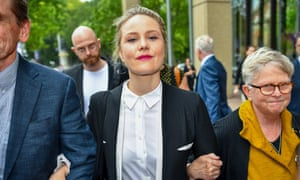 Actor Eryn Jean Norvill gave evidence in the defamation case brought by Geoffrey Rush against Nationwide News