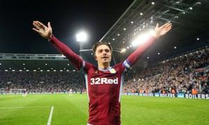 Jack Grealish has been a star performer for Aston Villa this season.