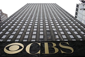 The headquarters of US network CBS in New York