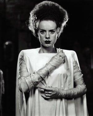 Bound to be frightening … Elsa Lanchester in the 1935 version of Bride of Frankenstein
