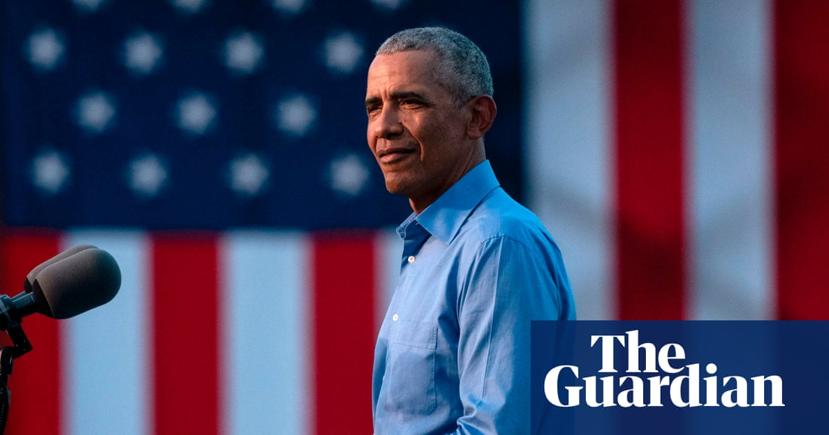 'Trump isn't going to protect us': Obama returns to campaign trail for Biden – The Guardian