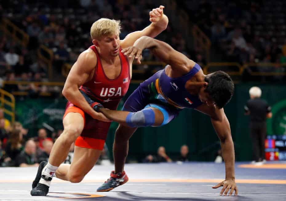 Kyle Dake first came to prominence with a glittering college career