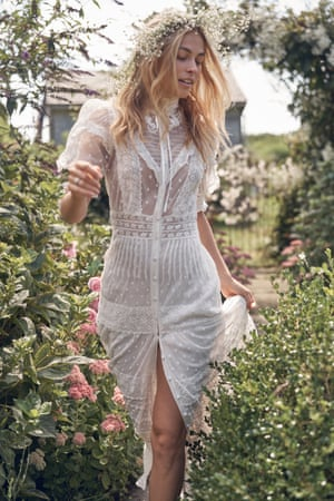 Wedded bliss LoveShackFancy, designed by Rebecca Hessel Cohen, launches a debut bridal collection next week. The flattering silhouettes range from Edwardian-inspired dresses to a playful lace mini dress with delightful puff sleeves. From £377, loveshackfancy.com