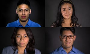 Dreamers will take over Guardian US for three days. Our team of guest editors: Justino, Itzel, Justino and Allyson.