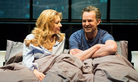 Matthew Perry with Jennifer Mudge in The End of Longing.