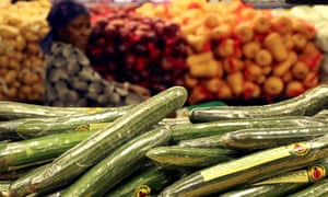 The public are ignoring advice to eat more vegetables.