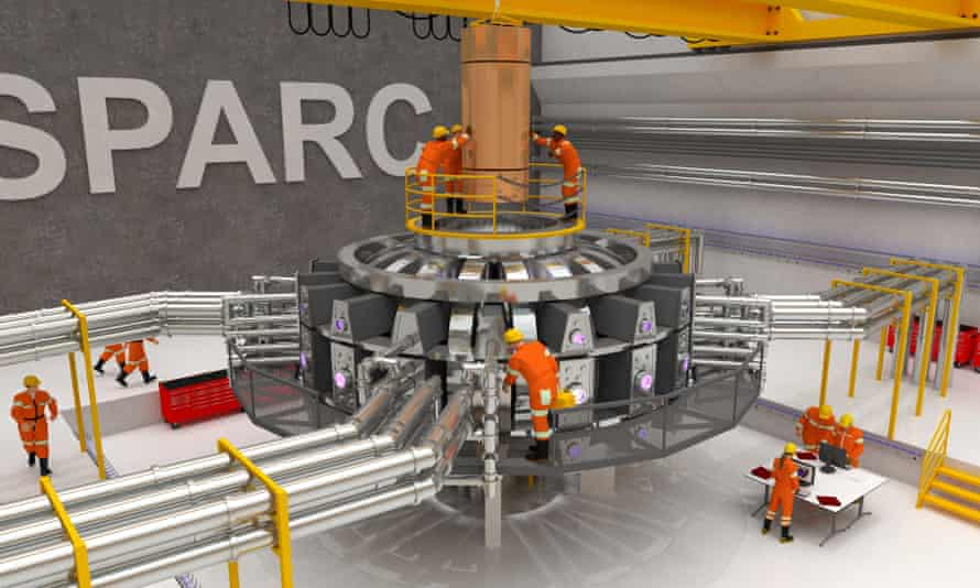 A visualisation of MIT's planned fusion experiment.