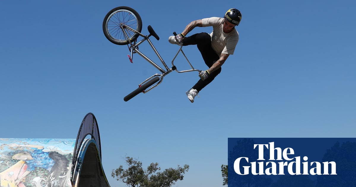 Tricks, flips and disconnects: BMX freestyle joins Olympic party in Tokyo