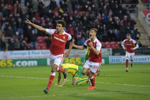 There weren't enough of these moments for Rotherham as they were the first team in the Football League to be relegated this season.