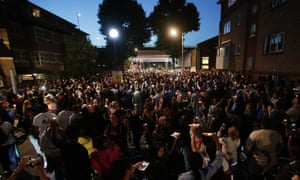 Tower block fire in LondonPeople hold candles aloft during a vigil outside Latymer Church, close to Grenfell Tower in west London after a fire engulfed the 24-storey building on Wednesday morning. PRESS ASSOCIATION Photo. Picture date: Friday June 16, 2017. See PA story FIRE Grenfell. Photo credit should read: Yui Mok/PA Wire