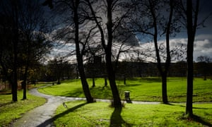 The park in Elswick