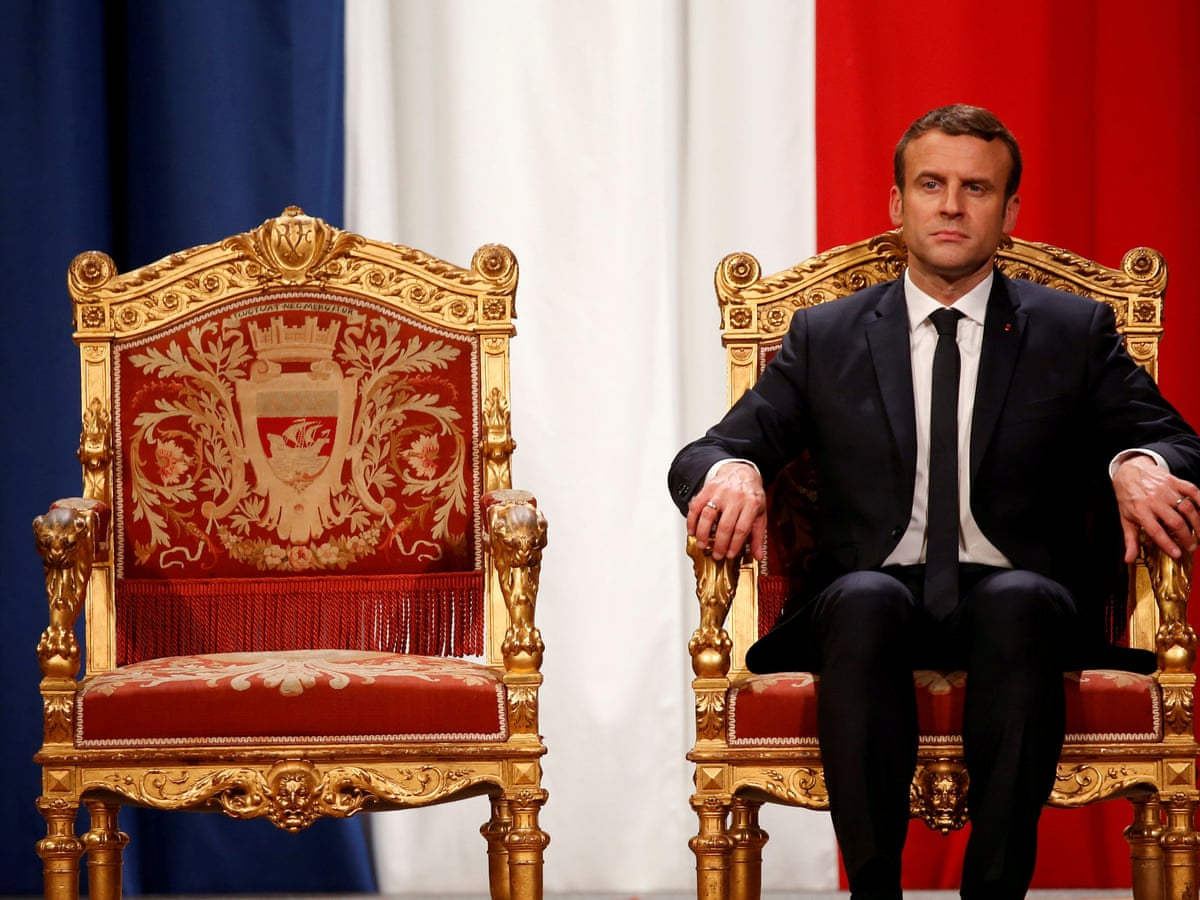 Jupiter Or Just Another Politician Macron S Divine Aura Begins To Fade Emmanuel Macron The Guardian