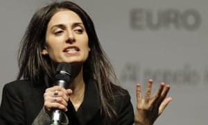 Virginia Raggi 'trusted the least trustworthy people in the world', Grillo said.