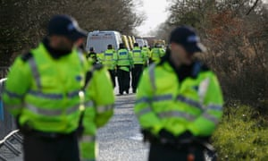 Upton anti-fracking protesters evicted