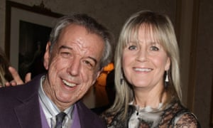 Rod Temperton and his wife Kathy attending a Teenage Cancer Trust concert at the Royal Albert Hall in London in 2012.