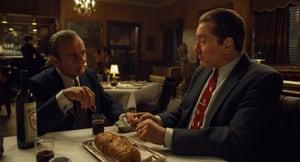 Joe Pesci and Robert De Niro in a scene from The Irishman.