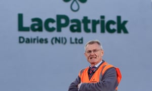 Gabriel D'Arcy, the chief executive of LacPatrick.