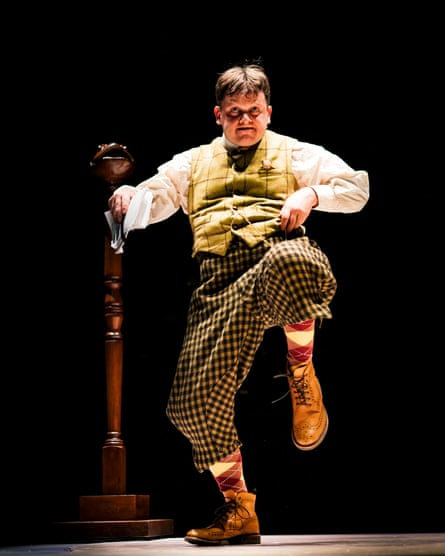 Amiable thrill-seeker ... Rob Witcomb as Toad.