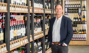 Rowan Gormley of Majestic Wine, which returned to profit last year.
