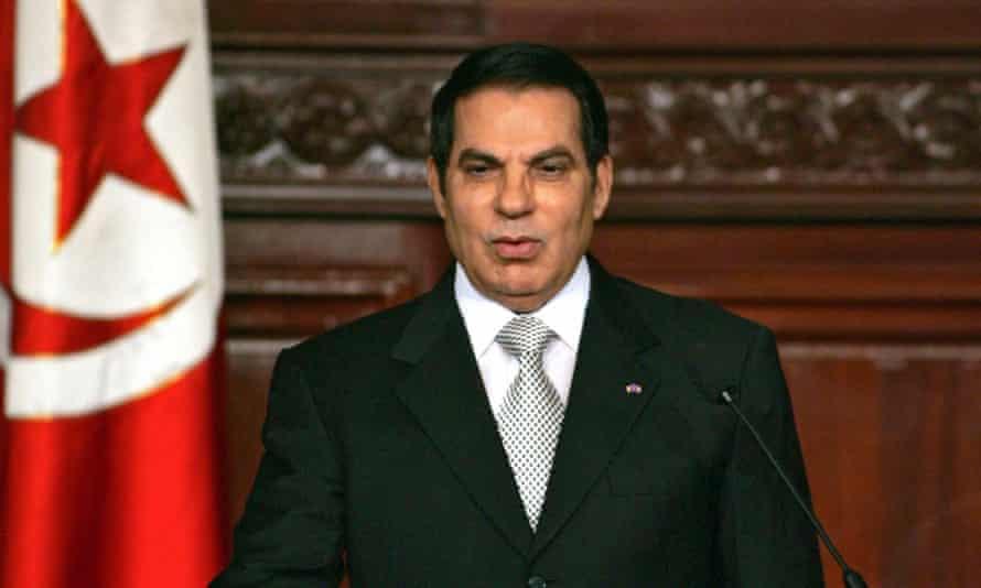 Ben Ali in Tunis in 2009.