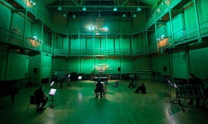 'The result was hypnotic' - the CBSO Centre's concert hall is set for Shiori Usui's underwater piece, Deep.