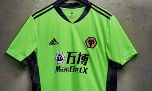 Wolves new home goalkeeper kit for 2020-21