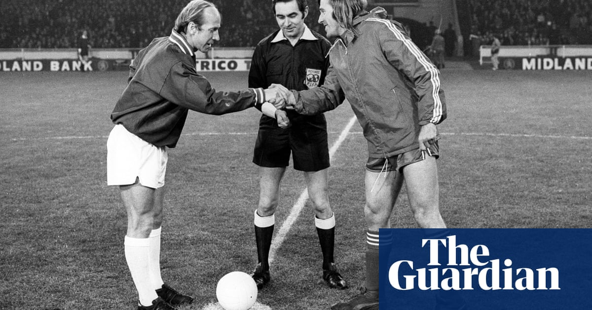 Charlton v Netzer: when stars faced off to celebrate the UK joining Europe