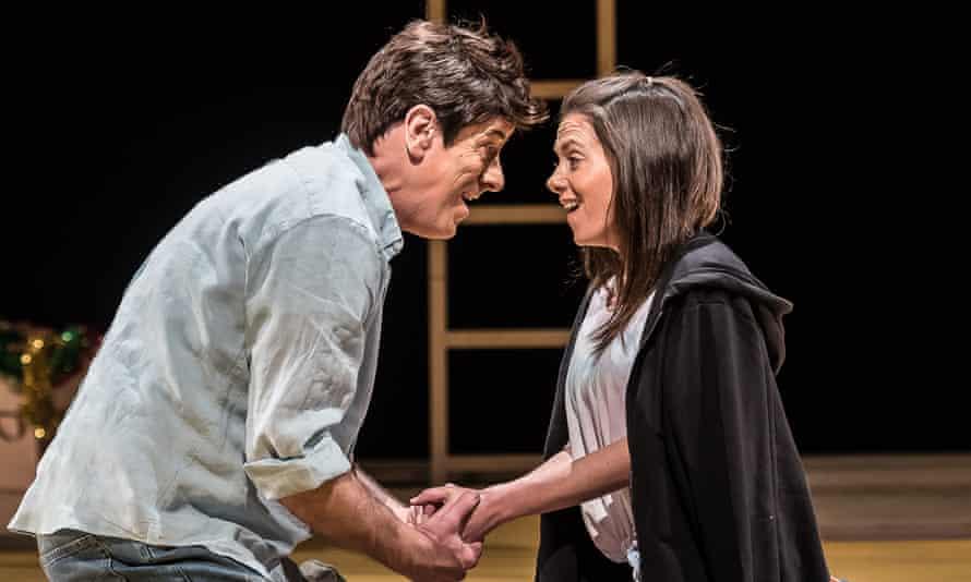 Young love … Thomas and Hughes sing with conviction in Y Tŵr, the new opera by Guto Puw