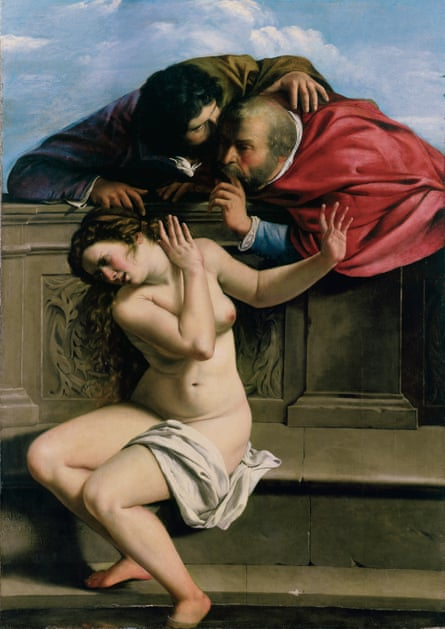'Practically assault': Susanna and the Elders (c1610)