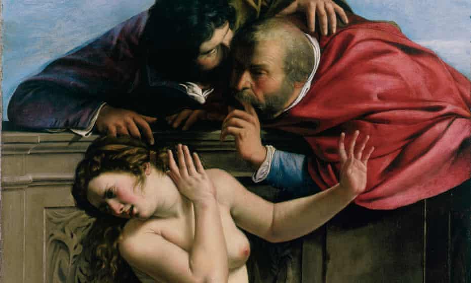 Life study ... Gentileschi's Susanna and the Elders.