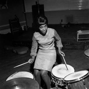 Ugandan singer Constance Mullando, London, 1966.