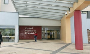 London North West Healthcare NHS Trust said it was having trouble paying suppliers.