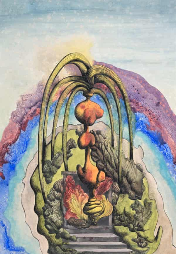 A work by Ithell Colquhoun from the 5,000-item archive.