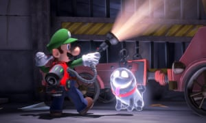 Luigi's Mansion 3, one of this year's titles available for Switch Lite
