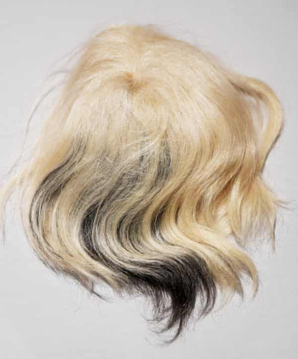 One of Andy Warhol's wigs