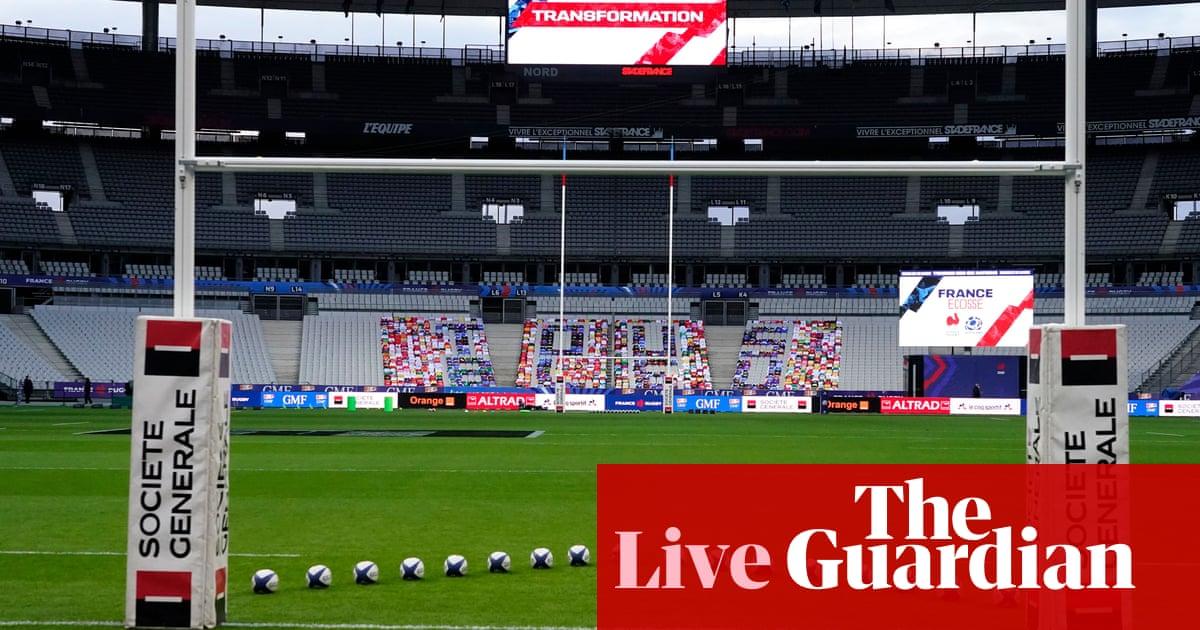 France v Scotland: Six Nations finale – live!