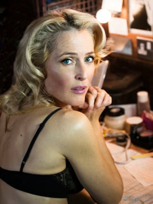 Gillian Anderson, A Streetcar Named Desire, Young Vic, London, 2016