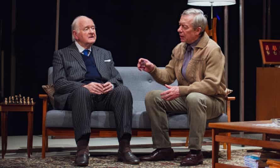 Beautifully acted … Oliver Ford Davies as Greene, left, and Stephen Boxer as Philby.