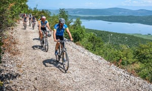 cycling the Ciro Trail in the Neretva valley