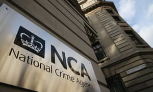 National Crime Agency headquarters in London