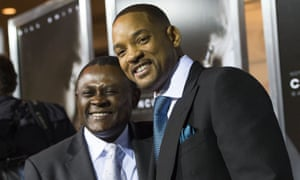 Dr Bennett Omalu and Will Smith