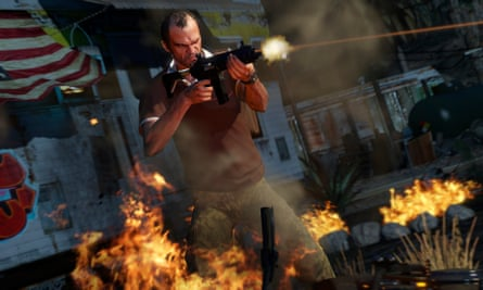 The game's most interesting – and violent – character, Trevor Philips