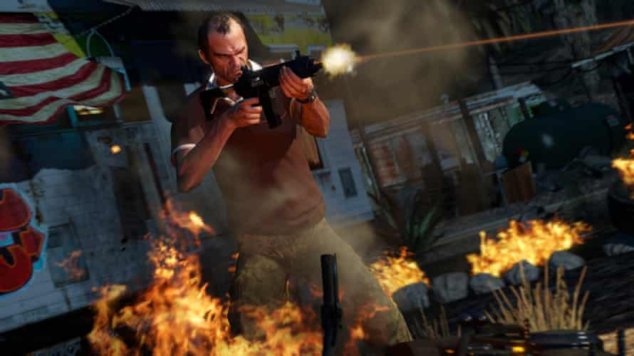 Trevor in Grand Theft Auto V
