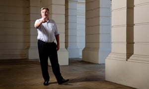 Ed Balls photographed this month by Linda Nylind for the Guardian.